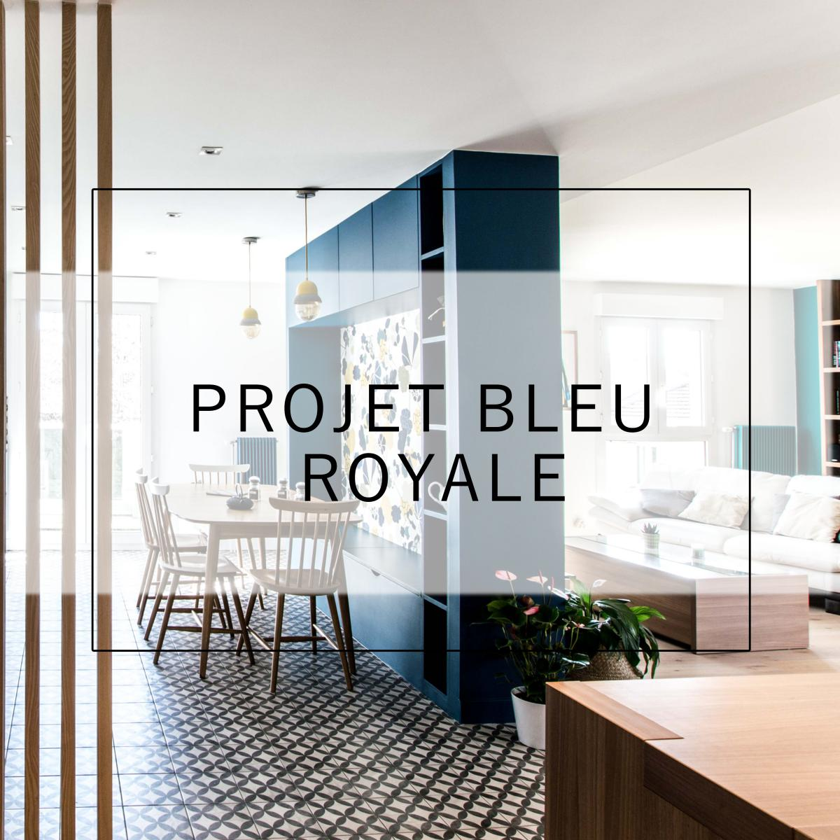 Avril 2018 - Bleu Royal -Lyon